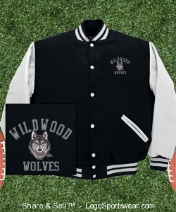 Wildwood Varsity Jacket Design Zoom